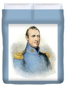 Sam Houston, 1793-1863 Duvet Cover