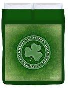 St. Patrick's Day Duvet Cover