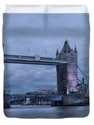 Tower Bridge - London Duvet Cover