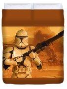 Vintage Star Wars Poster Duvet Cover