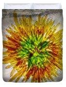 11262 Flower Abstract Series 02 #16a Duvet Cover