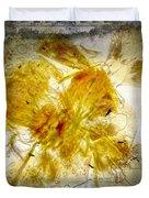 11265 Flower Abstract Series 02 #18 - Carnation 2 Duvet Cover