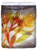 11315 Flower Abstract Series 03 #13 Duvet Cover
