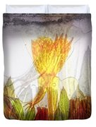 11322 Flower Abstract Series 03 #20 Duvet Cover