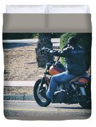Screw It, Just Ride Duvet Cover