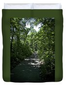 1174, Forest Path Duvet Cover