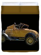 1930 Model A Ford Convertible Duvet Cover