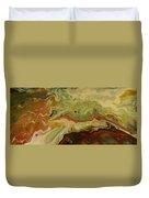 Acrylic Pour Duvet Cover