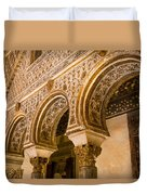 Alcazar Of Seville - Seville Spain Duvet Cover