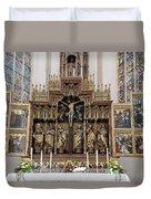 12 Apostles Altar - Rothenburg Duvet Cover