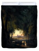 Forest Path Near Spandau Duvet Cover