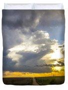 May Nebraska Storm Cells Duvet Cover