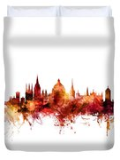 Oxford England Skyline Duvet Cover