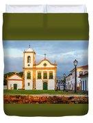 Paraty, Brazil Duvet Cover