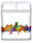 Richmond Virginia Skyline Duvet Cover