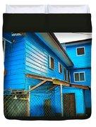 Roatan/house Duvet Cover