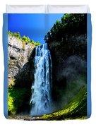 Salt Creek Falls Duvet Cover