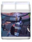 Star Wars Characters Art Duvet Cover