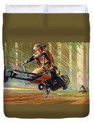 Star Wars Episode 2 Poster Duvet Cover