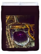 The Grateful Dead At Soldier Field Aerial Photo Duvet Cover