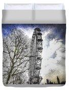 The London Eye Art Duvet Cover