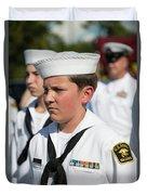 Us Naval Sea Cadet Corps - Gulf Eagle Division, Florida Duvet Cover