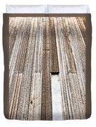 Wooden Panels Duvet Cover