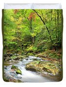 1266 Great Smoky Mountain National Park Duvet Cover