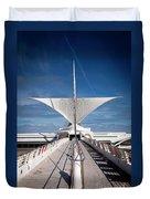1273 Milwaukee Museum Of Art Duvet Cover