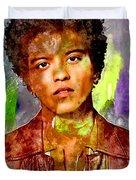 Bruno Mars Duvet Cover