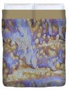 13. Cascade Brown Glaze Painting Duvet Cover