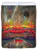 Ely Cathedral Flower Festival Duvet Cover by James Billings