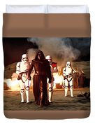 Empire Star Wars Poster Duvet Cover