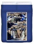 Great Falls Of The Potomac Duvet Cover