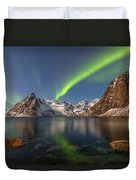 Hamnoy Lofoten - Norway Duvet Cover