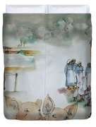 Land Of Clogs And Windmill Album Duvet Cover