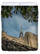 Le Mont Saint Michel Duvet Cover