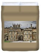 Lincoln England United Kingdom Uk Duvet Cover