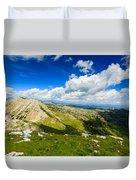 Mountain Panorama, Italy Duvet Cover