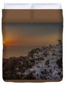 Oia - Santorini Duvet Cover