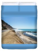 Pacific Ocean Big Sur Coatal Beaches And Landscapes Duvet Cover