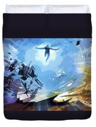Star Wars Characters Art Duvet Cover