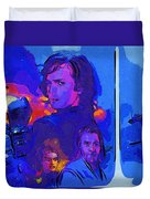 Trilogy Star Wars Art Duvet Cover