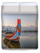 U Bein Bridge - Myanmar Duvet Cover