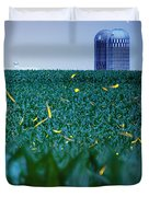 1306 - Fireflies - Lightning Bugs Over Corn Duvet Cover