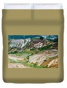 Longji Terraced Fields Scenery Duvet Cover