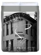 13th And Cary Duvet Cover
