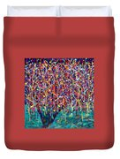 14-26 Green Forest Tree Duvet Cover