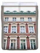 Apartment Building Duvet Cover