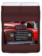 Classic Ford Pickup Duvet Cover